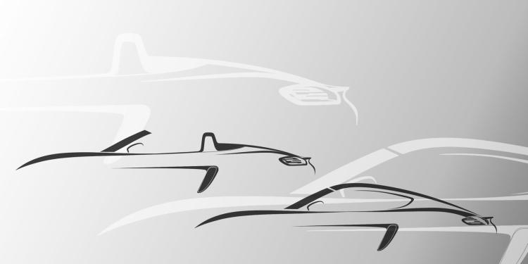 Porsche Boxster and Cayman to be named after legendary 718