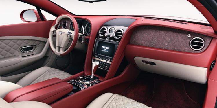 Bentley introduces stone veneers to vehicle range