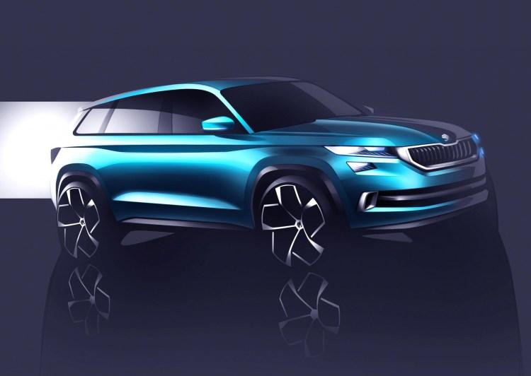 Skoda VisionS shows future SUV