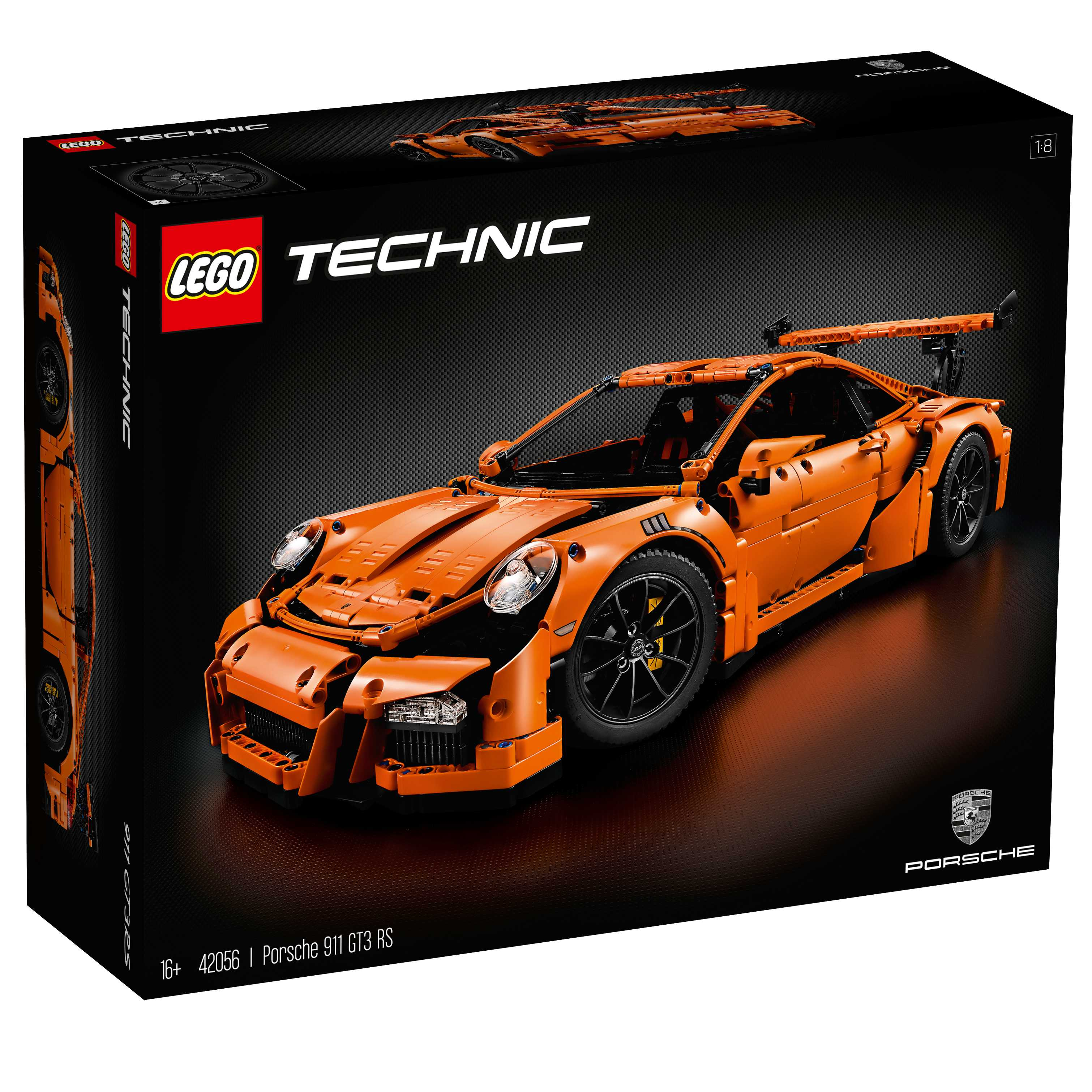 Ford 2 3 Turbo T Bird: Official Lego Porsche 911 GT3 RS Revealed