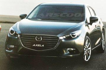 Mazda3 leaked
