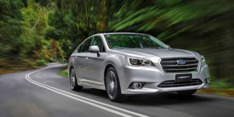 Subaru Liberty 3.6R review