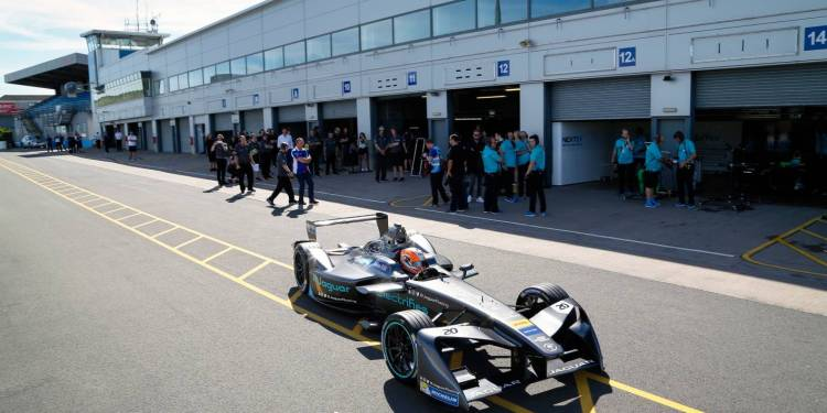 Jaguar I-Type gets shakedown run ahead of October 9 race in Hong Kong