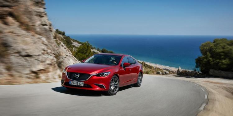 refreshed Mazda6 revealed