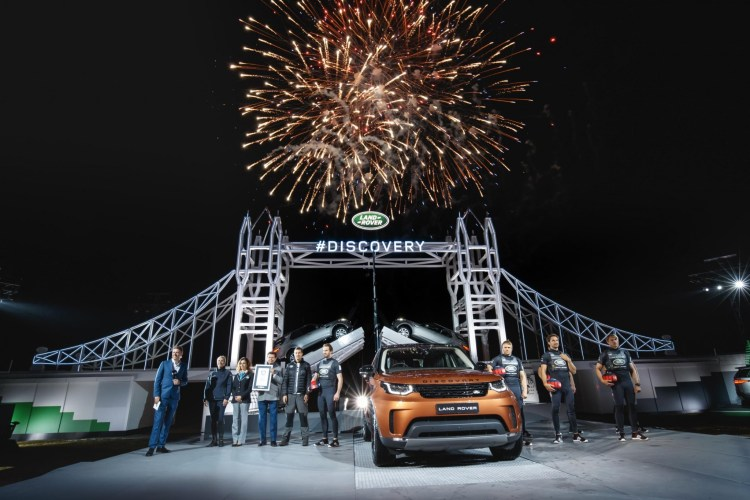 Land Rover breaks Guinness World Record for largest ever Lego structure