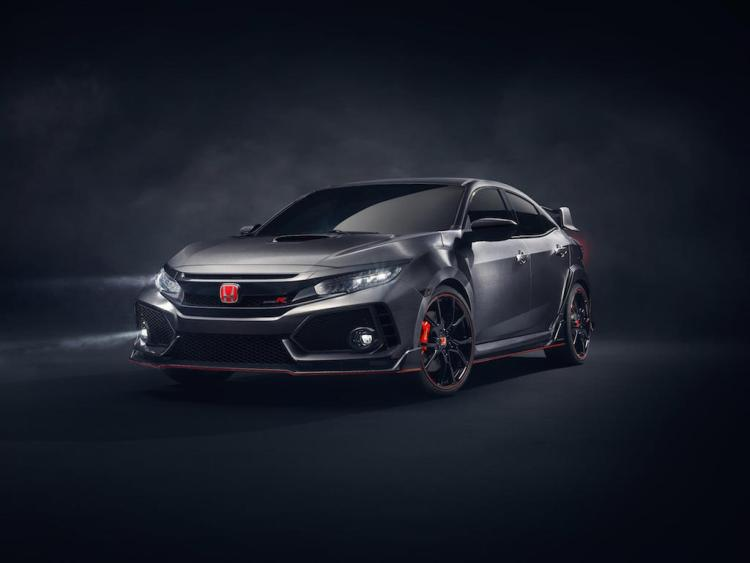 New Civic Type R prototype revealed