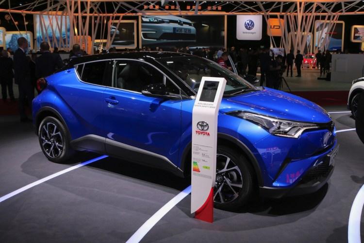 Toyota C-HR - Paris
