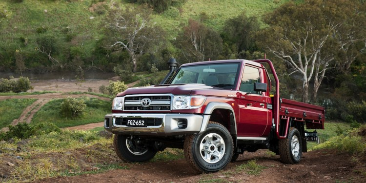 2016 Toyota LandCruiser 70 Series Single Cab Chassis GXL