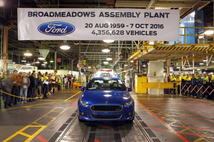 Last ever Ford Falcon