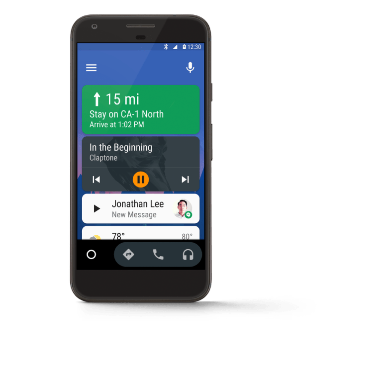 Google frees Android Auto from in-car display