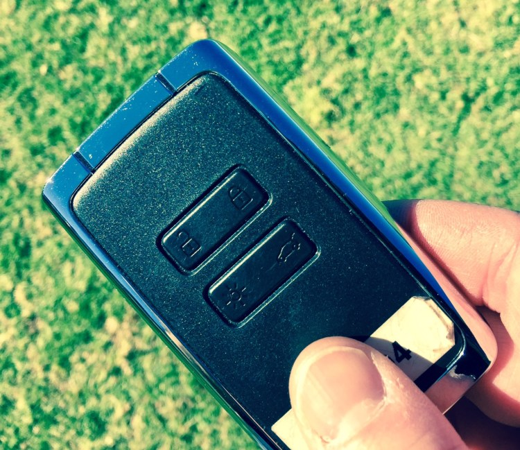 keycard car key