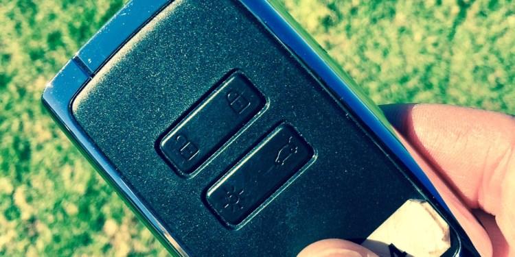 keycard car key