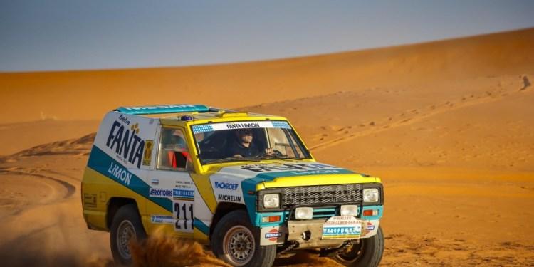 Nissan Patrol Paris-Dakar restored