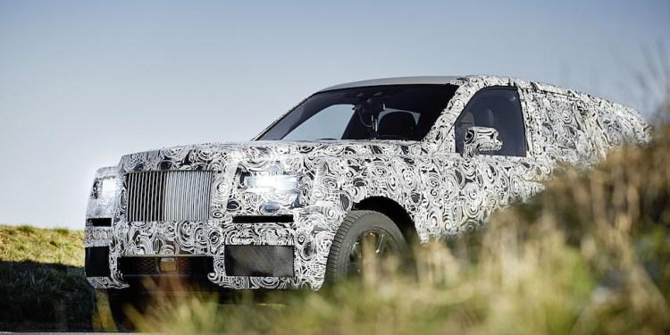 Rolls-Royce Project Cullinan teased
