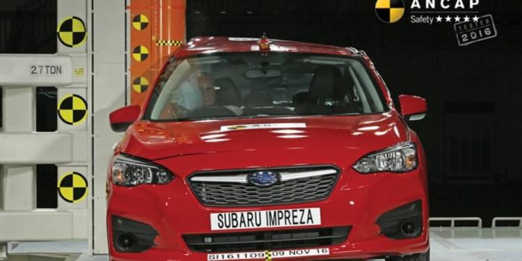 ANCAP and Subaru Impreza