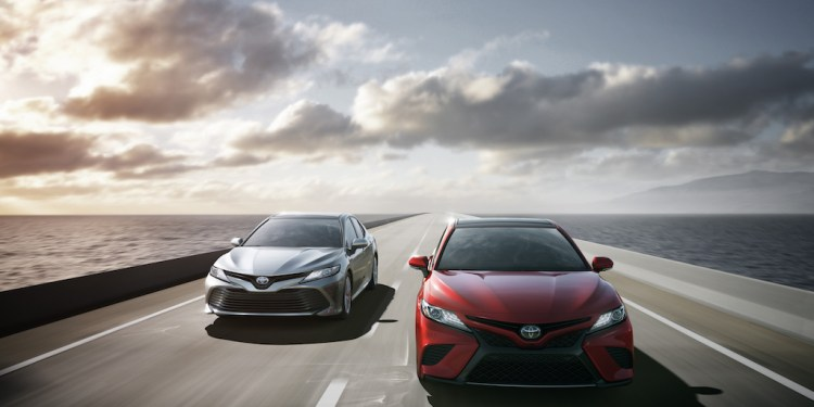 2018 Toyota Camry revealed in US