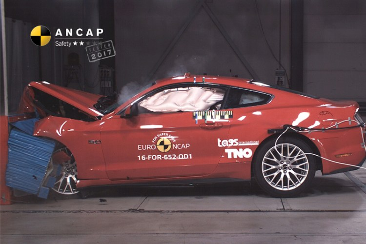 The all-new Ford Mustang is one of the best-selling cars on the market, yet in shock news released today has scored a shocking 2-star ANCAP rating.