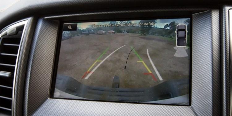 Ford Ranger reversing camera