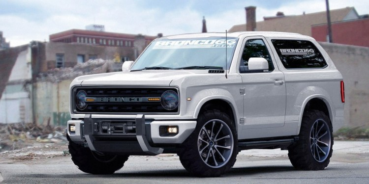Ford Bronco- artist impression