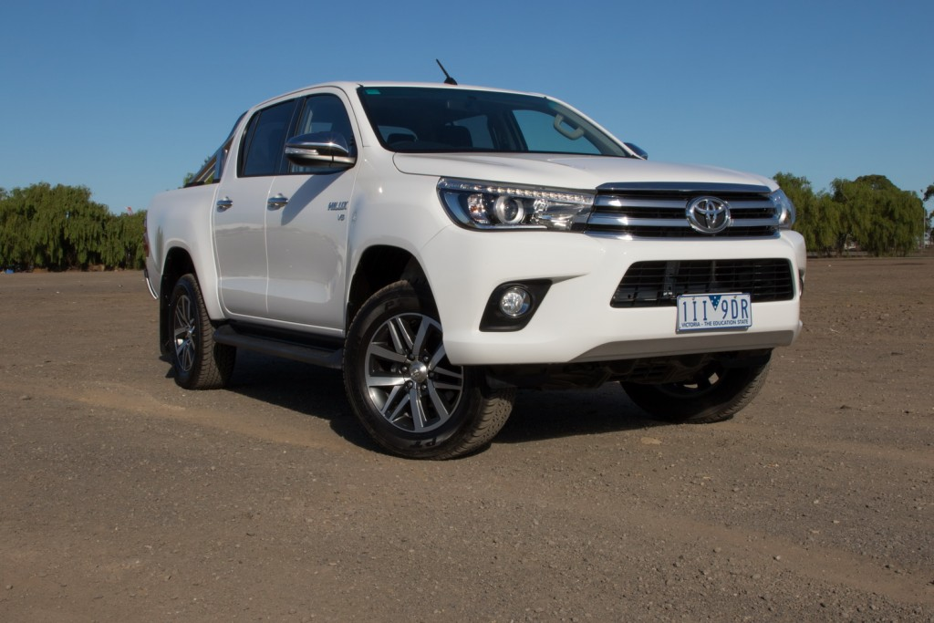 2017 Toyota Hilux V6 Review Quick Drive Practical Motoring