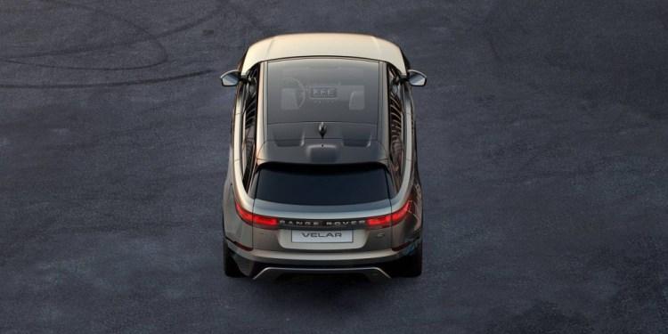 Range Rover Velar teased