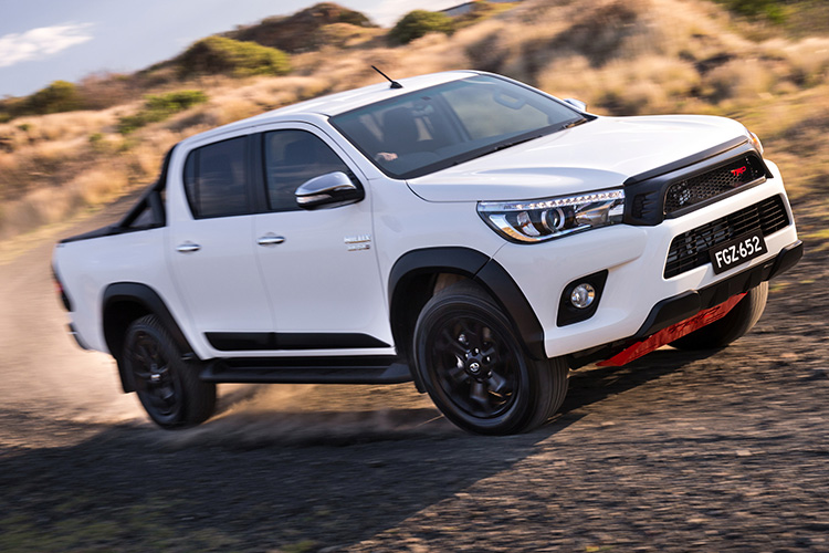 One-off toy Hilux built — The Tonka Toyota