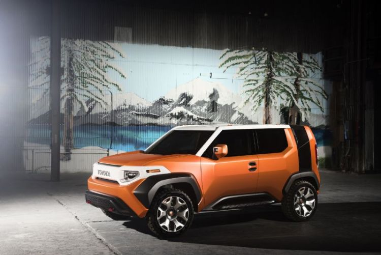Toyota FT-4X Concept revealed
