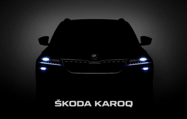 Skoda Karoq teased again