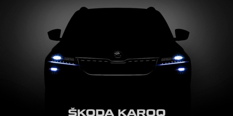 Skoda Karoq teased again