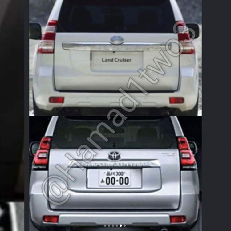 New Toyota Prado leaked... allegedly