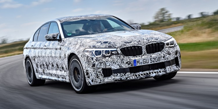 BMW M5 revealed with all-wheel drive