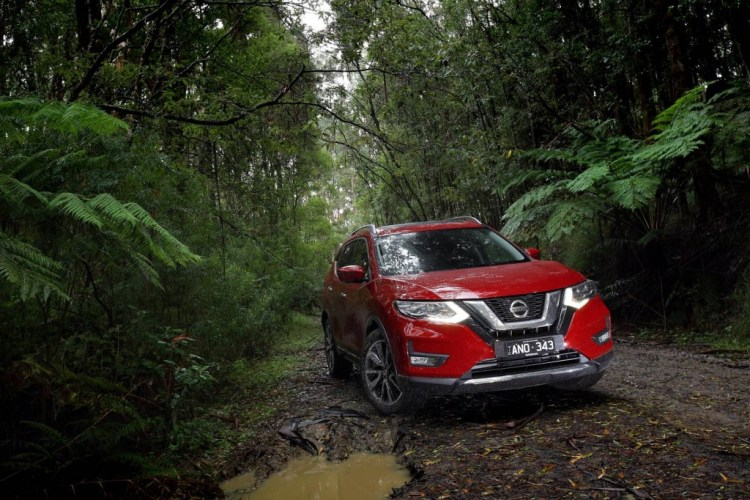 refreshed Nissan X-Trail