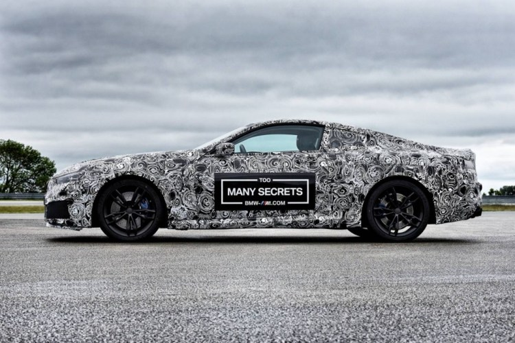 BMW M8 teased