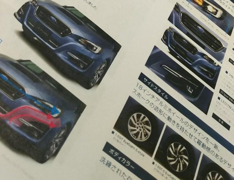 Subaru Levorg refreshed
