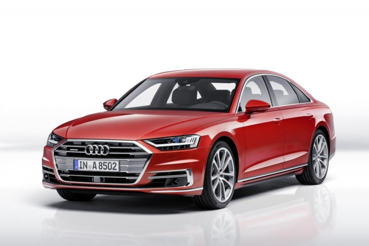 2018 Audi A8 revealed in Spain