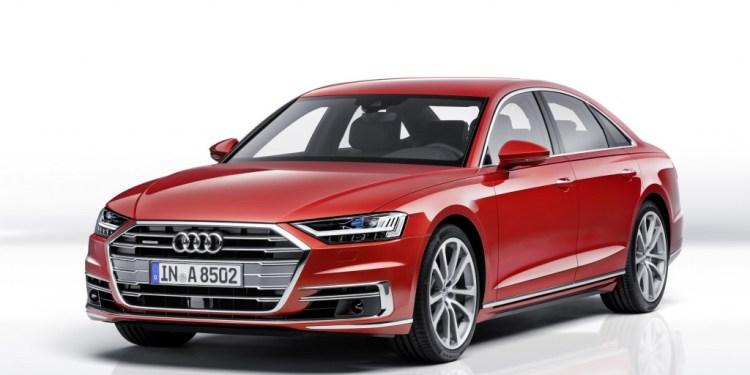 2018 Audi A8 revealed in Spain