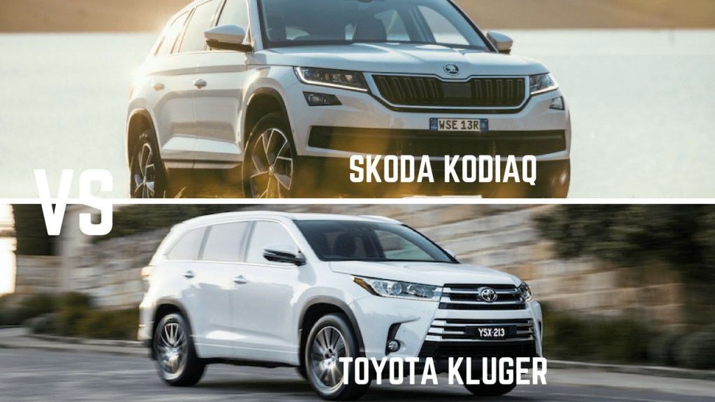head to head: skoda kodiaq vs toyota kluger | practical motoring
