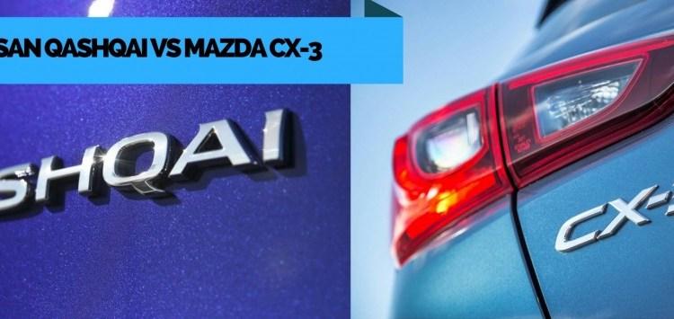 Nissan Qashqai Vs Mazda CX-3