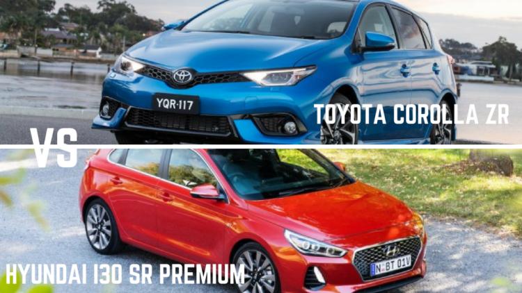 Hyundai i30 SR Premium Vs Toyota Corolla ZR - which one's best?