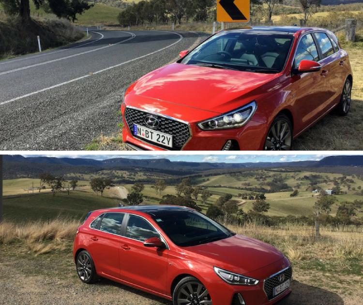 i30 SR Premium on Practical Motoring's test loop