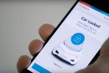 Perfectly Keyless app from Bosch to replace car keys