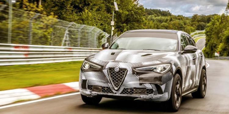 Alfa Romeo Stelvio fastest SUV at Nurburgring