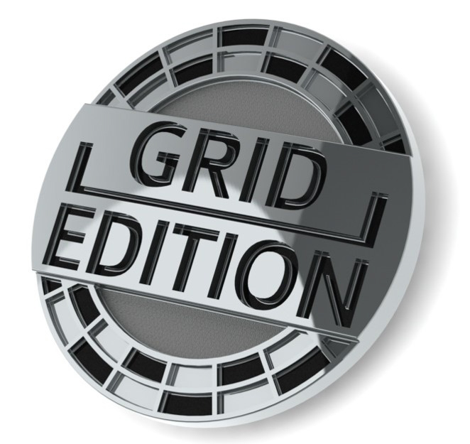 Golf R Grid Edition emblem.