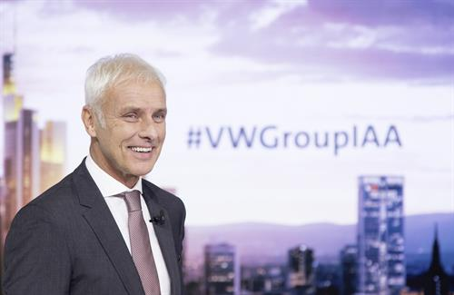Matthias Müller, Chairman of the Board of Management of Volkswagen