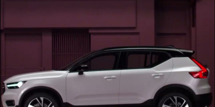 Volvo XC40 leaked by Volvo Hungary