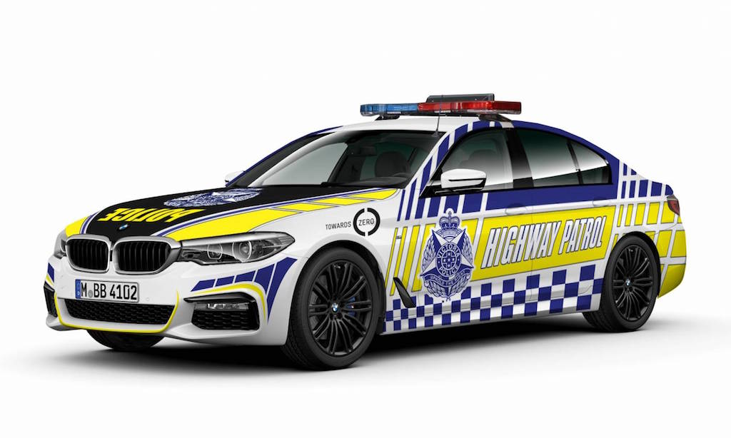 Victoria Police take BMW 530d as new highway patrol vehicle