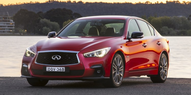 2018 Infiniti Q50 Red Sport review by Practical Motoring