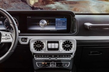 Mercedes-Benz has teased the new, tech-focussed interior of the next-generation G-Class ahead of its debut at the Detroit Motor Show in January.
