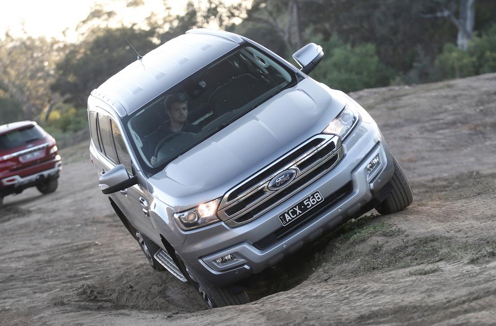 Ford Everest Trend 4WD Vs Isuzu MU-X LS-U