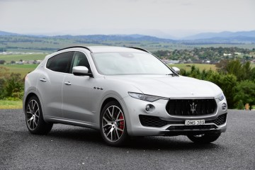Maserati Levante S arrives in Australia